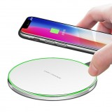 Super thin Aluminum Apple 7.5W and Samsung 10W Fast charge wireless charging pad